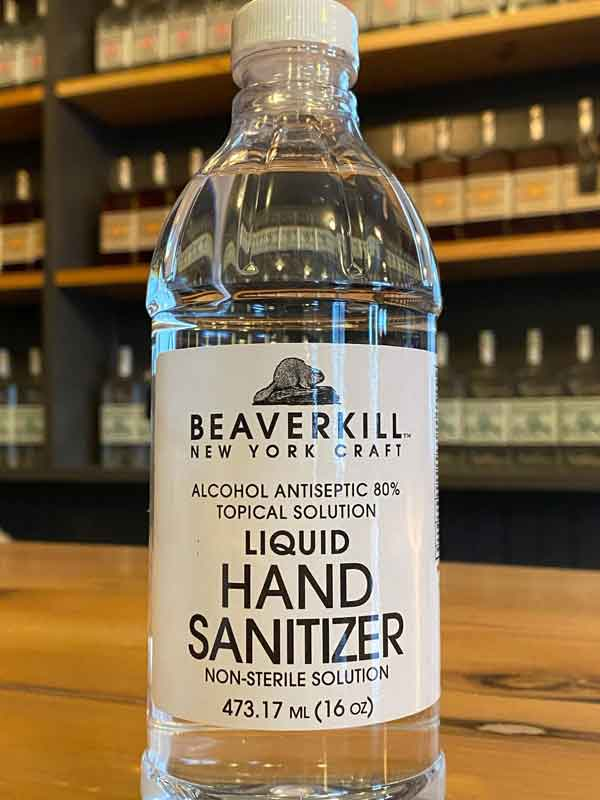 Beaverkill Hand Sanitizer (25 bottle case)